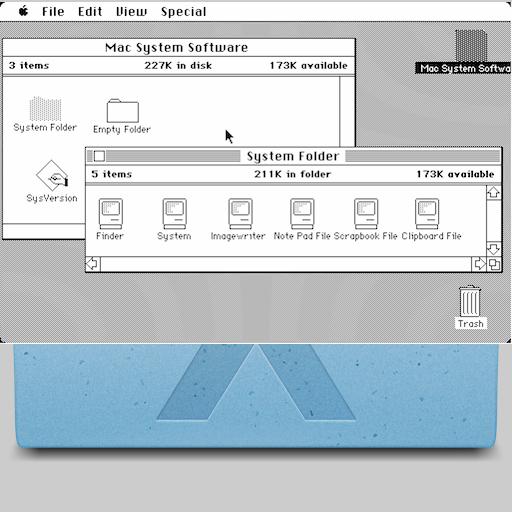 Original Mac vs SL Icon